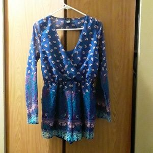 RUE 21 Dressy Romper medium